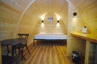 2 person glamping pod