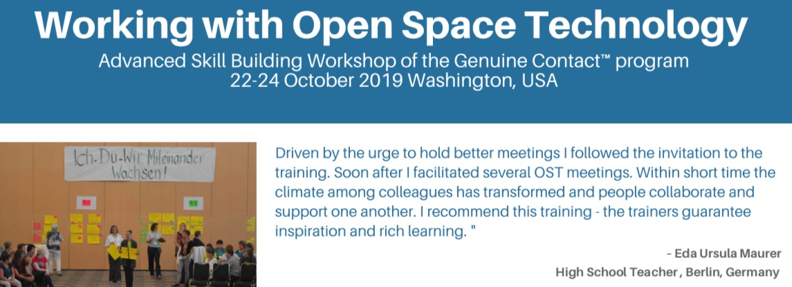 Working with Open Space Technology